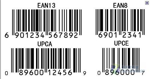 相机形状条码素材