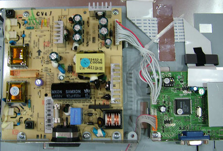这个是飞利浦170c6真货里面的电路板.