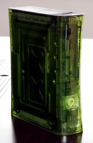 复古外加恐怖 Xbox 360游戏机改造图赏