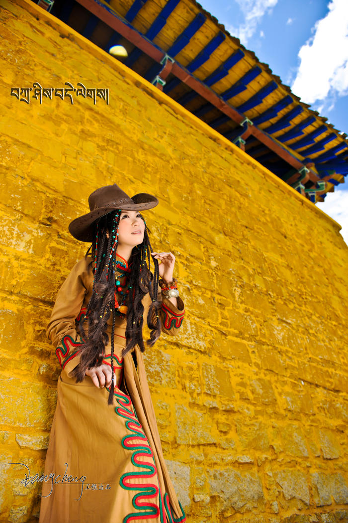 动情的藏族姑娘 zol网友高品质人像作品
