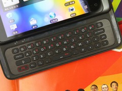 HTC 纵横 黑色 键盘图