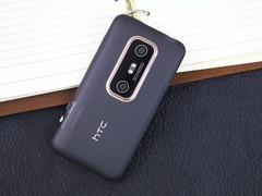 HTC EVO 3D 黑色 背面图