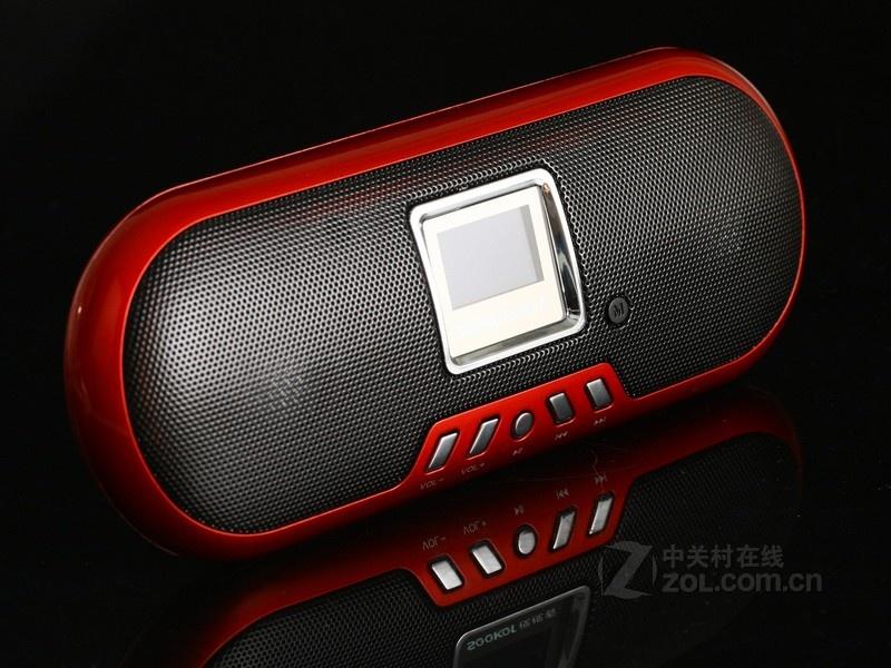 视视看 SK-520 红色 外观图视视看SK-520便携音箱2.0声道...