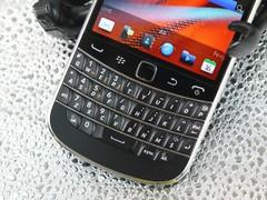 黑莓 9900 黑色 键盘图