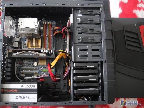 电脑主机内线安装图解
