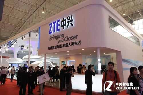 ZTE中兴携Tegra3四核7吋平板现身通信展