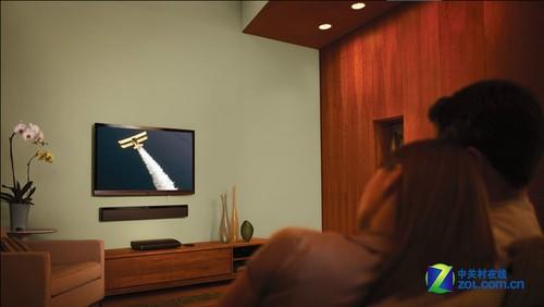 首款Soundbar架构 Bose小居室家庭影院