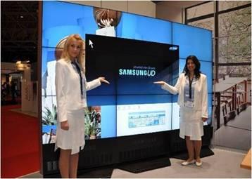 众望所归 三星商用大屏推新一代LED拼接显示器