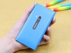 诺基亚 N9 蓝色 背面图