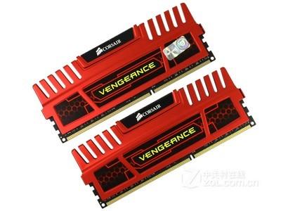 海盗船 8GB DDR3 1600 红色复仇者套装(CMZ8GX3M2A1600C9R)
