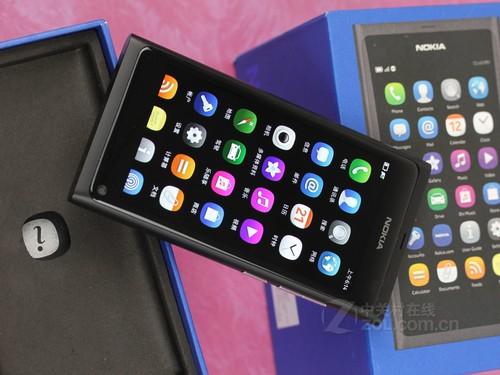 诺基亚 N9 黑色 外观图