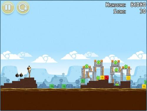 Angry Birds 中的 Chrome 彩蛋们