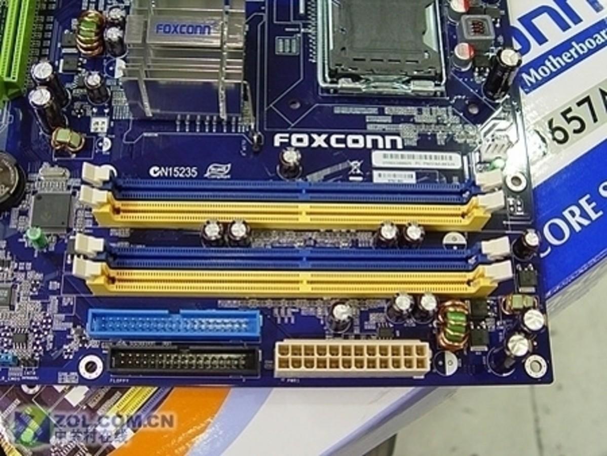 foxconn主板电源接线图
