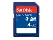 闪迪 SDHC存储卡(4GB)