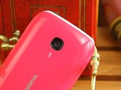 诺基亚 603 粉色 摄像头图