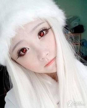 中国版芭比娃娃素颜