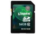 金士顿 SDHC卡 Class10(16GB)SD10V/16G