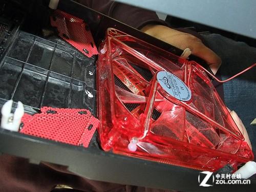 旋钮风扇调速器 技展洛奇M701机箱399元图片