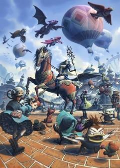 《洛汗黄金城》体验首款玩家祈福网游的精彩