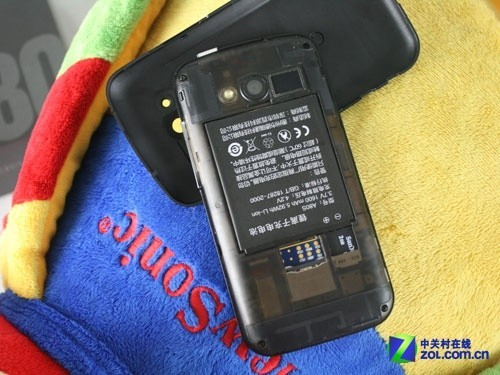 999元4.3吋qHD屏1GHz双模 首派A80s评测