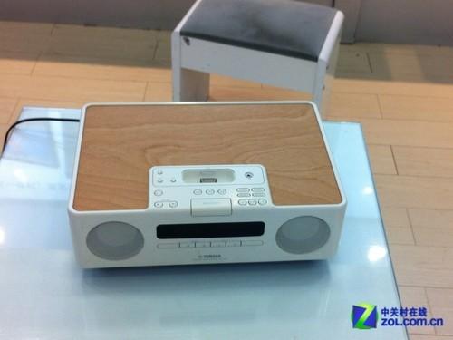 支持CD播放 雅马哈木质苹果音响2800元