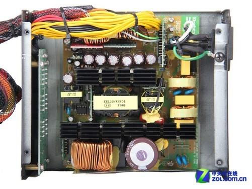 机箱电源 正文  金翔500w金牌电源采用了 主动式pfc llc谐振半桥 同步