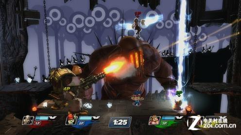 2012E3游戏展视频采访录之《索尼明星大乱斗》