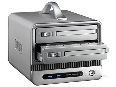 铁威马F2-NAS网络存储器 服务器nas USB3.0磁盘阵列 支持8tb