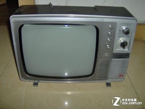 老式的crt电视机