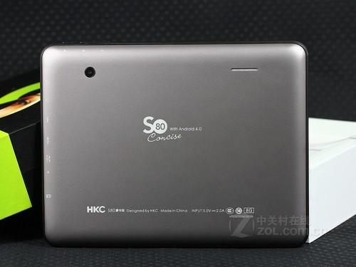 轻薄A10芯平板 HKC S80豪华版降至599元
