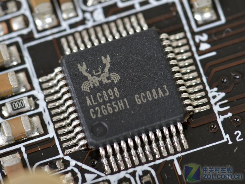 realtek alc898音效芯片