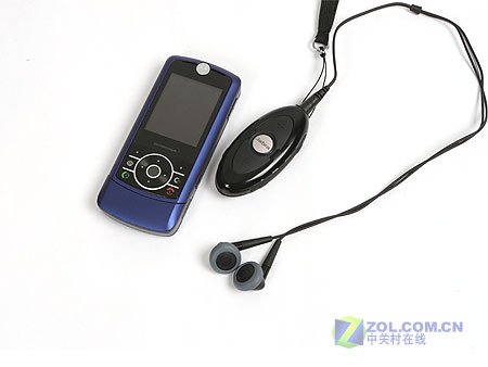 图为:捷波朗bt320s蓝牙耳机和摩托罗拉z3手机