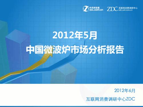 2012年5月中国微波炉市场分析报告
