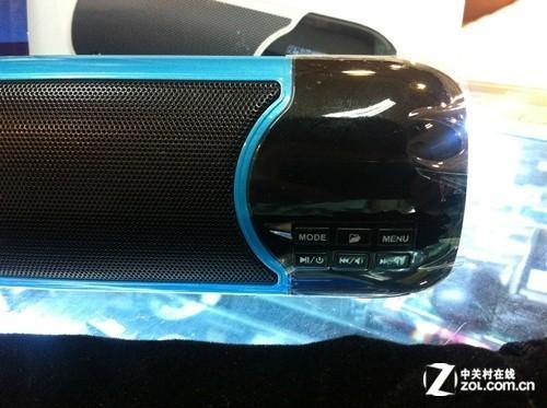 便携双音圈设计 朗琴X7音箱仅售168元