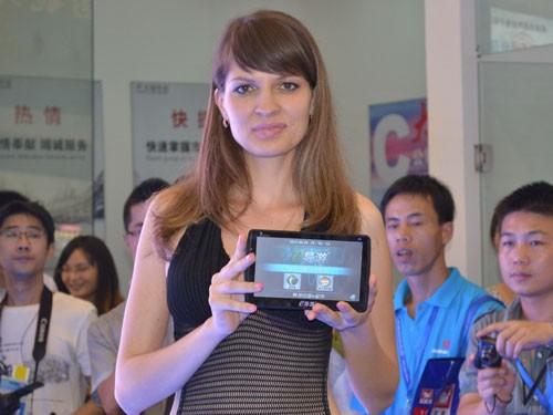 8G变频全球首发 卓越创通展会超高人气