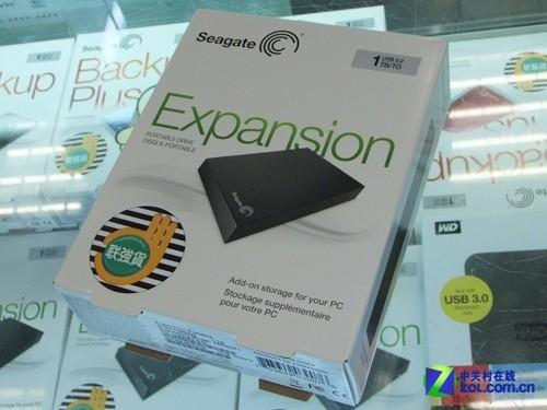 USB3.0高速传输 希捷1TB新睿翼仅699元