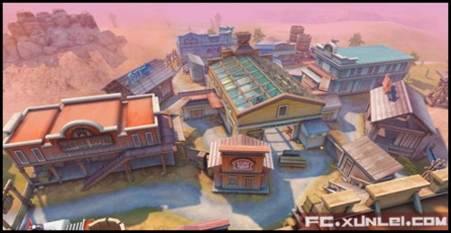 FPS网游《大冲锋》 详尽地图介绍