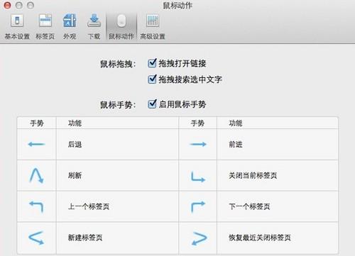 QQ浏览器 for Mac V1.5正式发布:支持鼠标手势