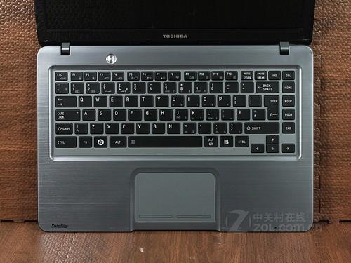 東芝 U800月光銀 鍵盤面圖