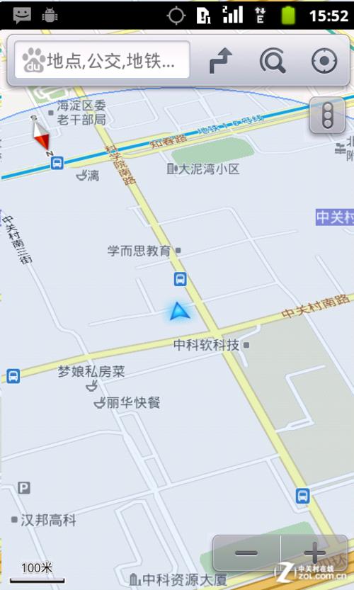 百度地图2d模式/罗盘导航