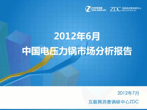 2012年6月中国电压力锅市场分析报告
