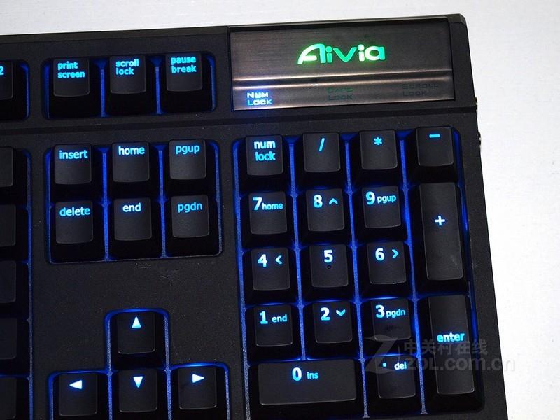 机械式游戏键盘_【高清图】 技嘉(gigabyte)aivia osmium机械式游戏键盘效果图 图4
