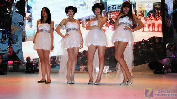 大量超短裙美女