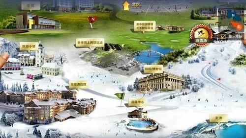 艾洛维投影助力万达打造长白山国际旅游度假区