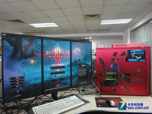 体验大面子技术 NVIDIA多屏拼接新领域