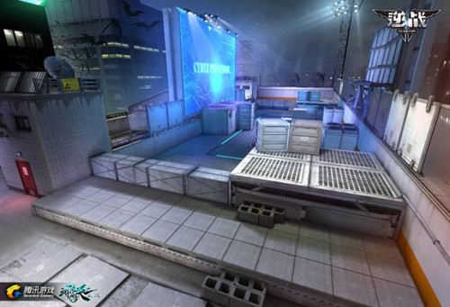 逆战基础资料介绍之游戏战场地图详解