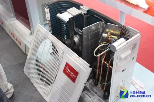 空調室外機結構 格力空調室外機結構 美的空調室外機結構