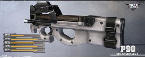《逆战》游戏资料常用武器冲锋枪介绍