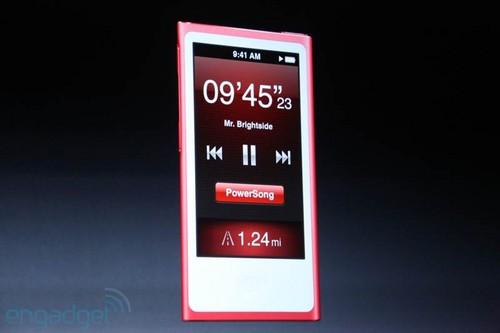 全新设计支持WiFI iPod nano 7发布