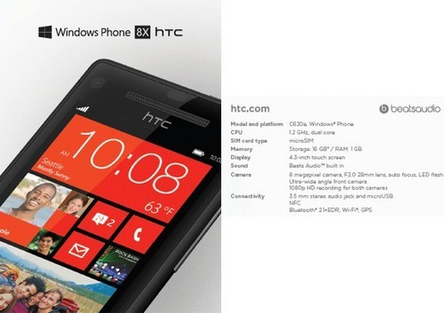 WP8/Android都会有 锁定今天23点HTC·纽约